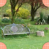 The garden of our bed and breakfast in Beaurainville North of France
